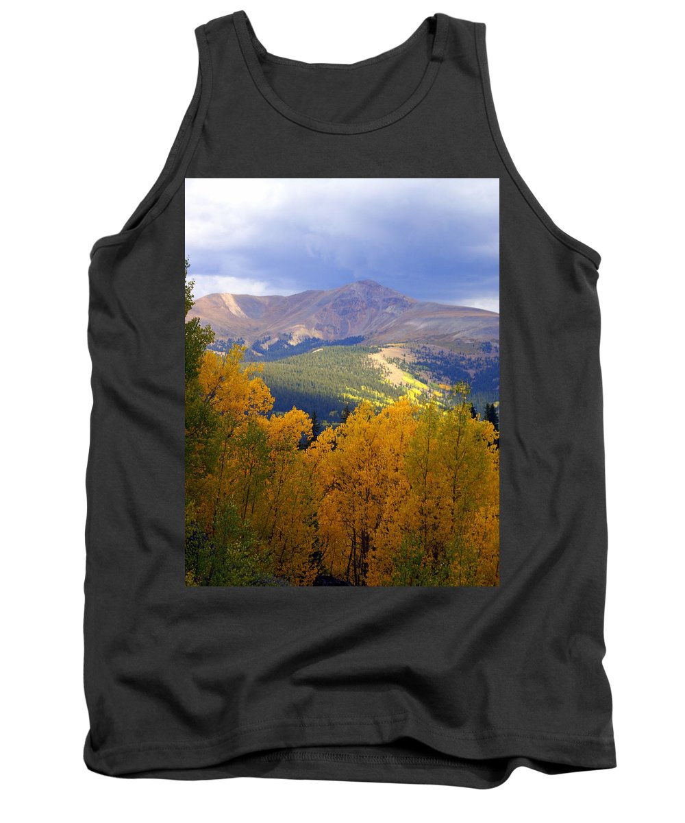 Colorado Tank Top featuring the photograph Mountain Fall by Marty Koch