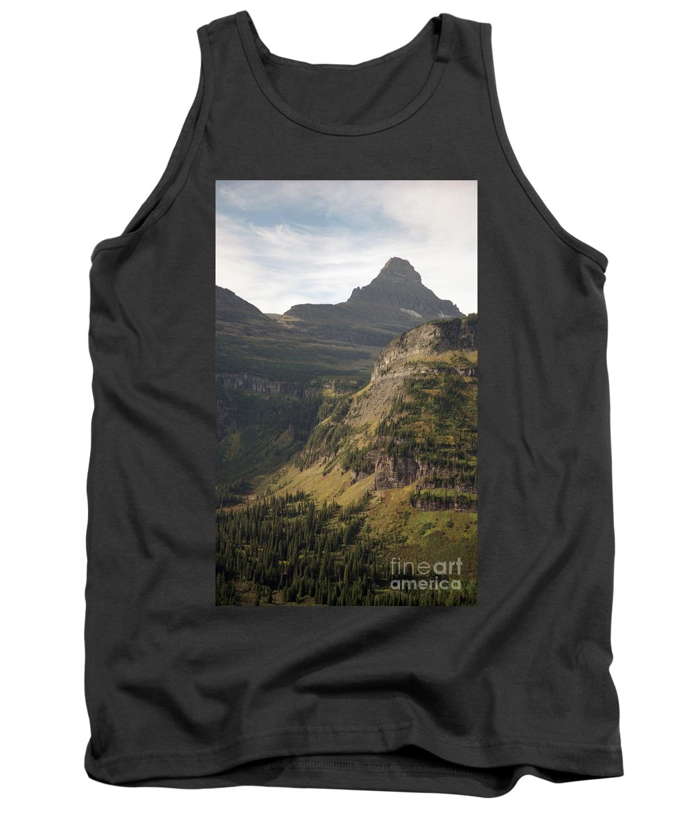 Glacier Tank Top featuring the photograph Mountain Glacier by Richard Rizzo