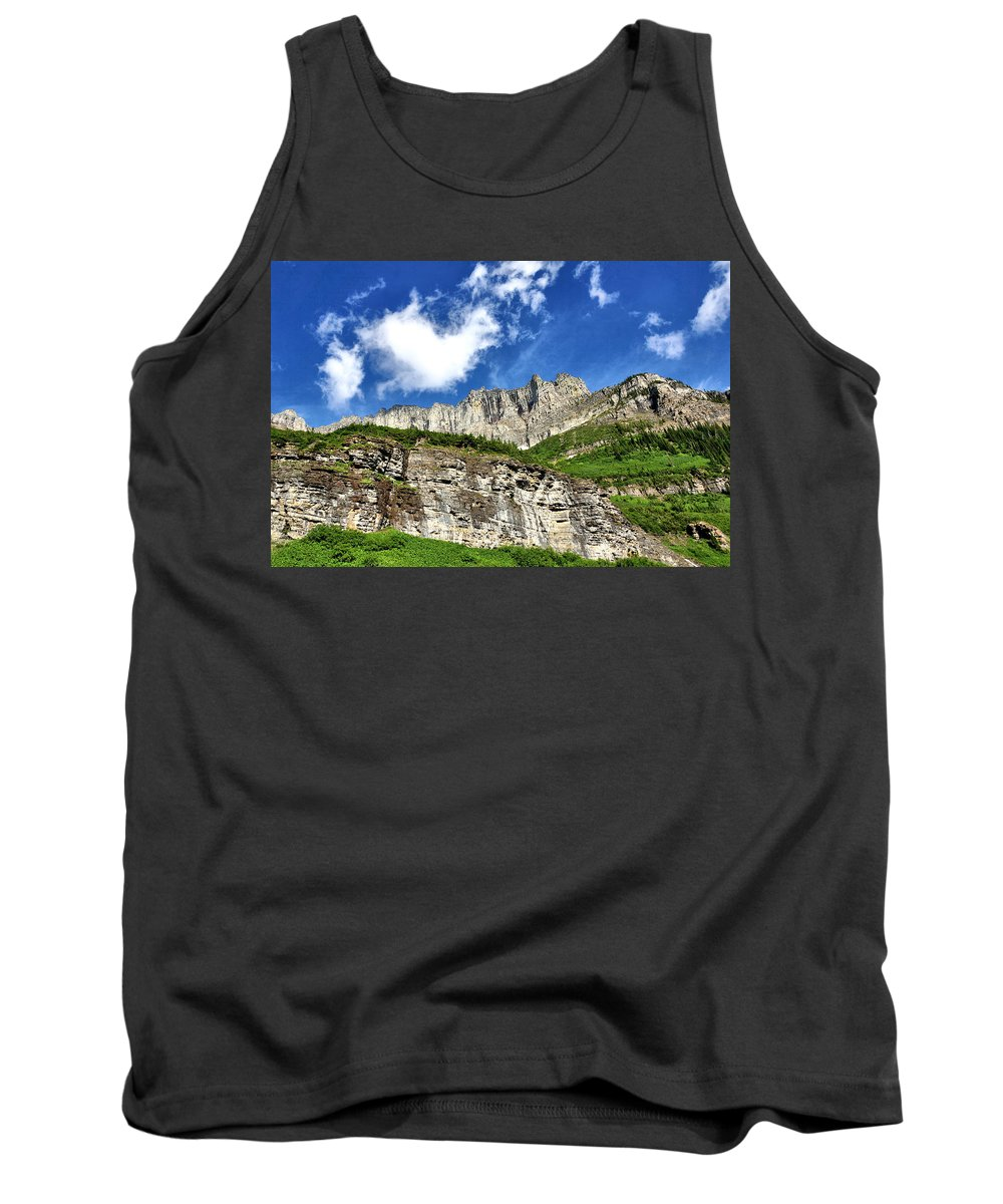 Mountains Tank Top featuring the photograph Mountain High by John Trommer
