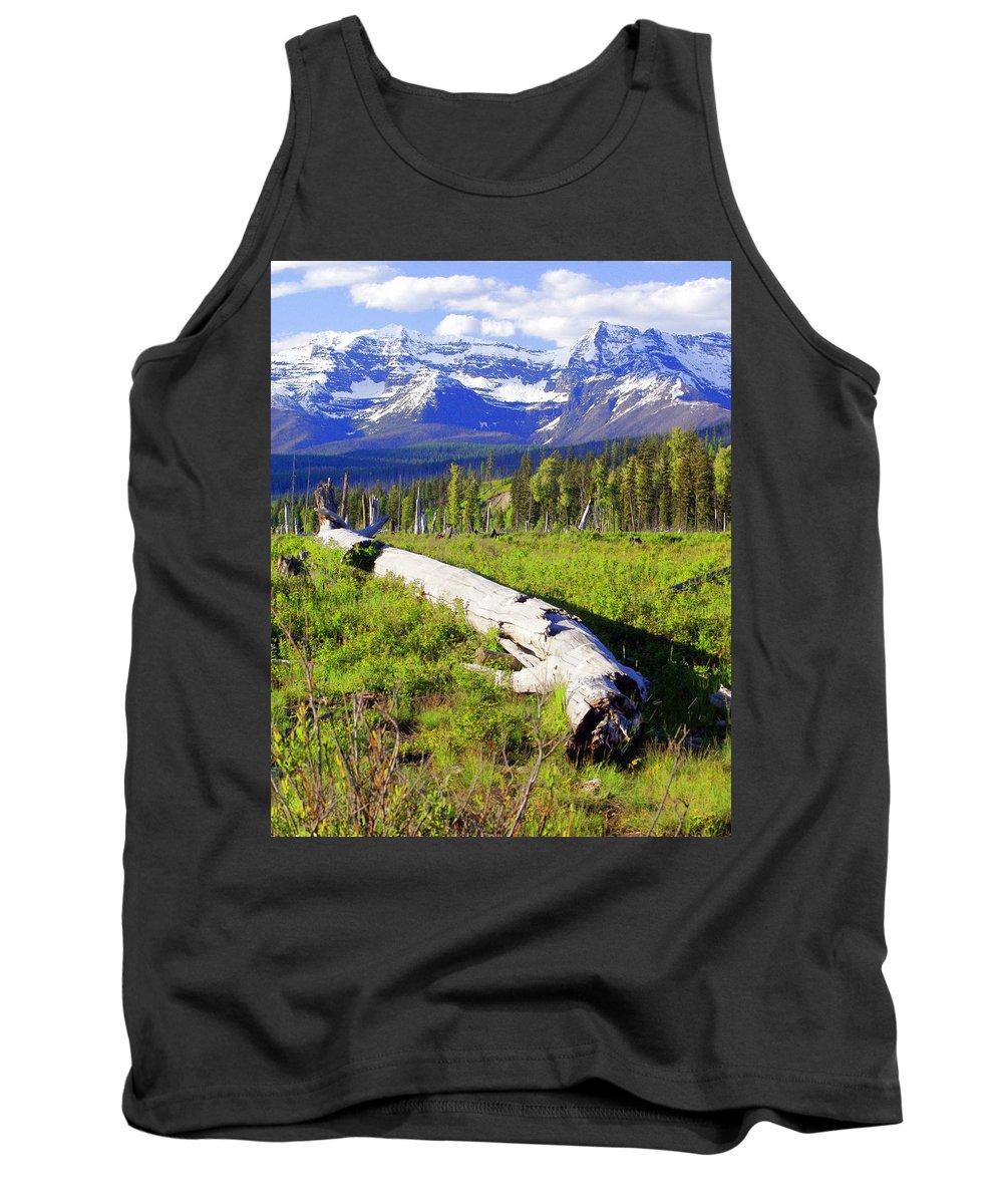 Mountain Tank Top featuring the photograph Mountain Splendor by Marty Koch