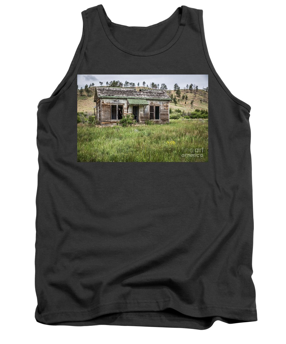 Deserted Tank Top featuring the photograph Move-in Ready by Lynn Sprowl