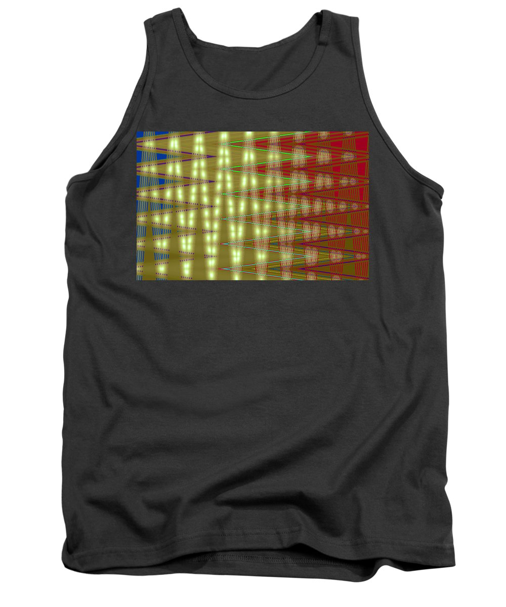 Moveonart! Digital Gallery Tank Top featuring the digital art Moveonart Amplify Your Creativity Two by Jacob Kanduch