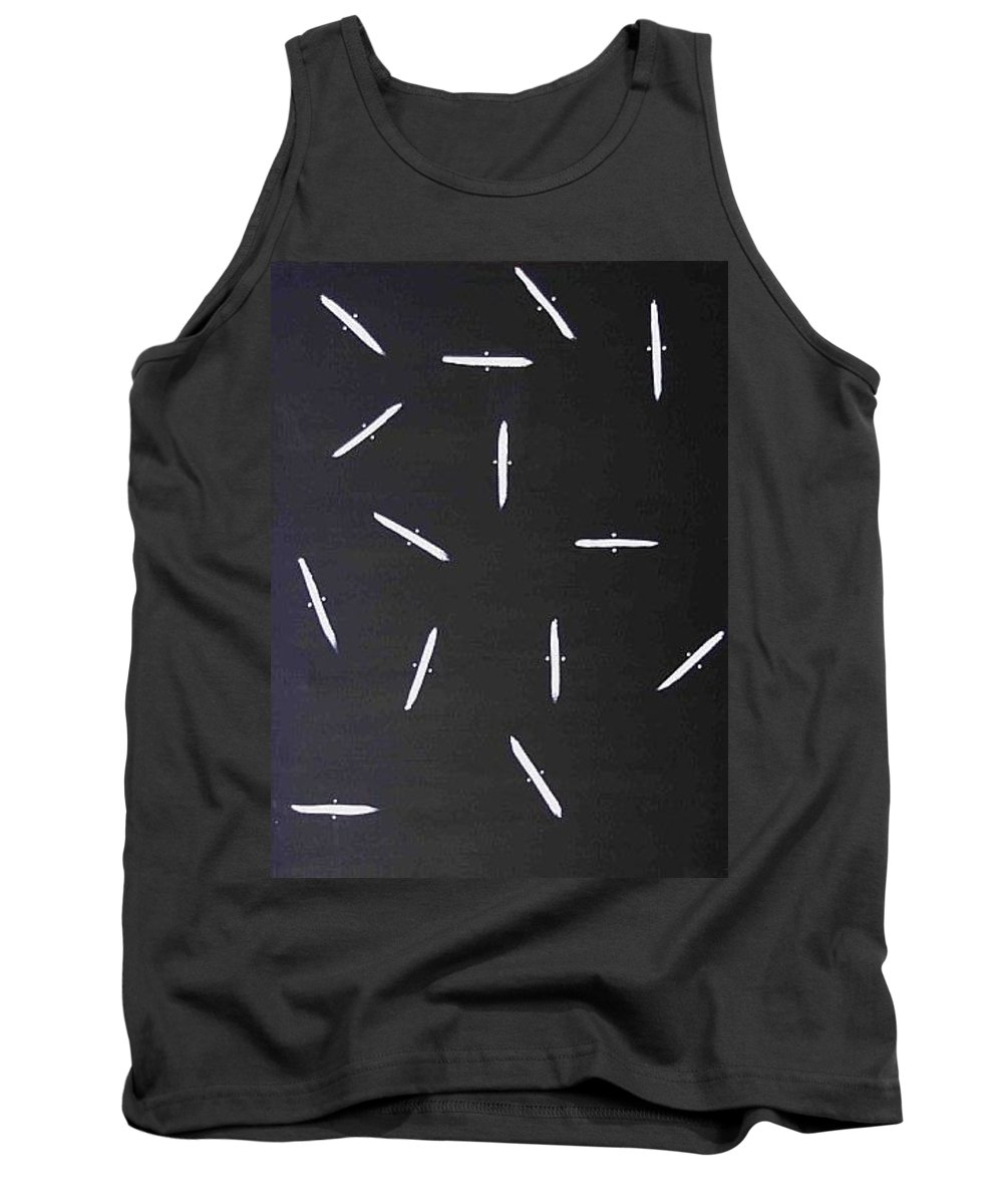 Moveonart! Digital Gallery Tank Top featuring the painting Moveonart Guidance by Jacob Kanduch