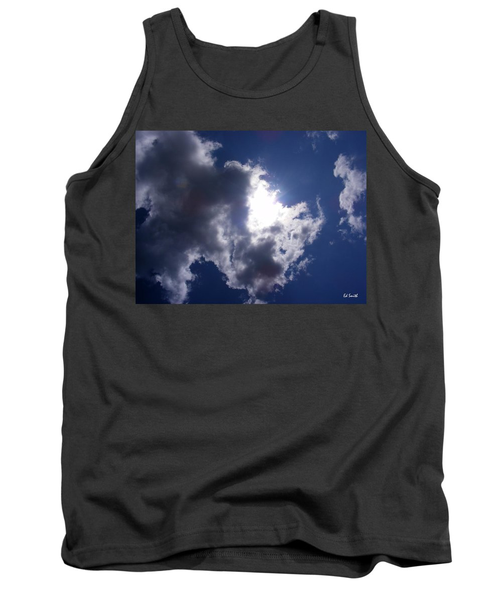 Mr Blue Sky Tank Top featuring the photograph Mr Blue Sky by Edward Smith