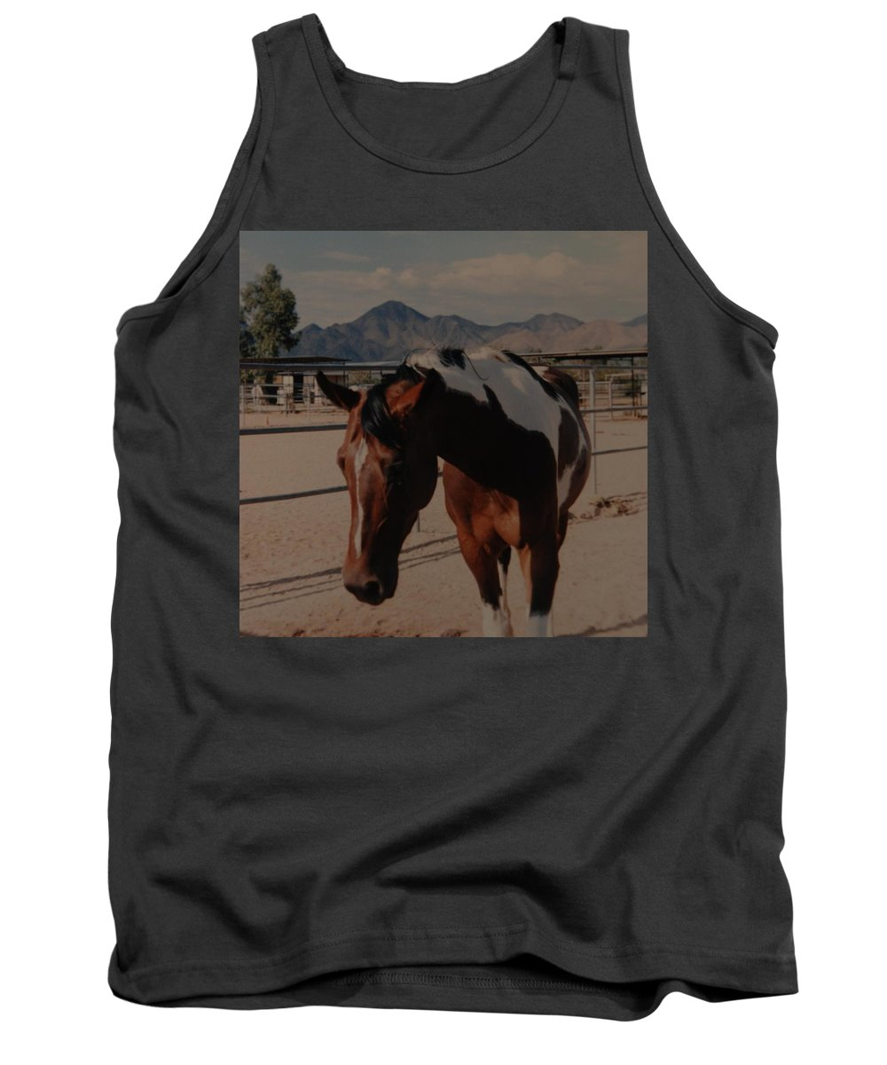 Horse Tank Top featuring the photograph Mr Ed by Rob Hans
