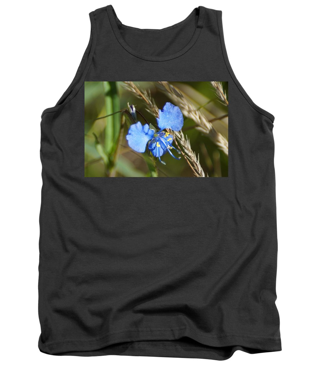 Arizona Tank Top featuring the photograph Mt. Lemmon Flower by Dennis Boyd