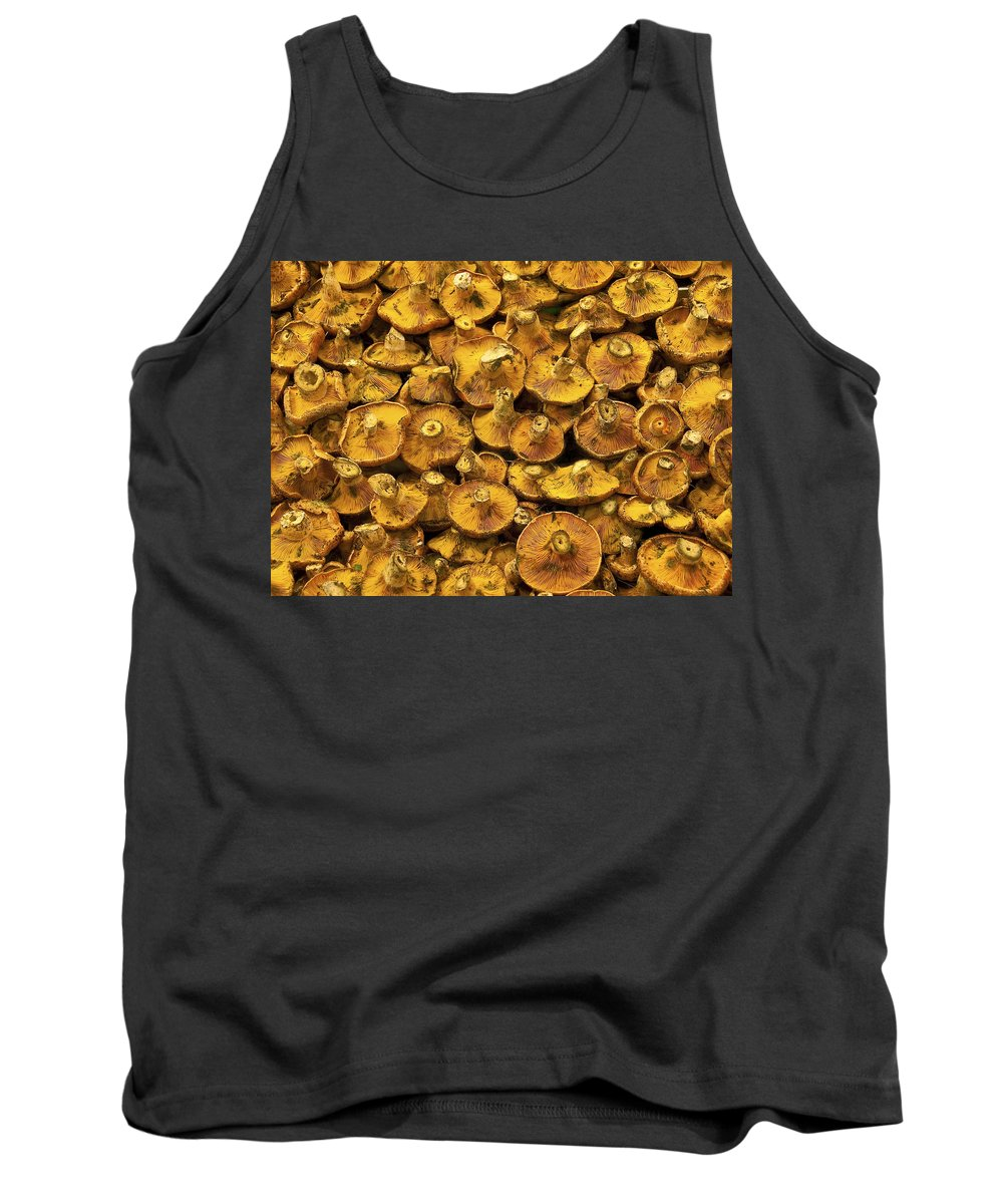 Mushroom Tank Top featuring the photograph Mushrooms In Spain by Steven Sparks