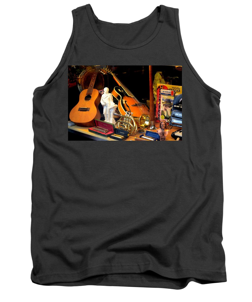 Color Tank Top featuring the photograph Musically Inclined by Vickie Washington