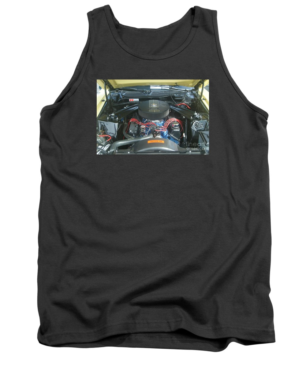 Mustang Tank Top featuring the photograph Mustang Mach 1 by Rob Luzier