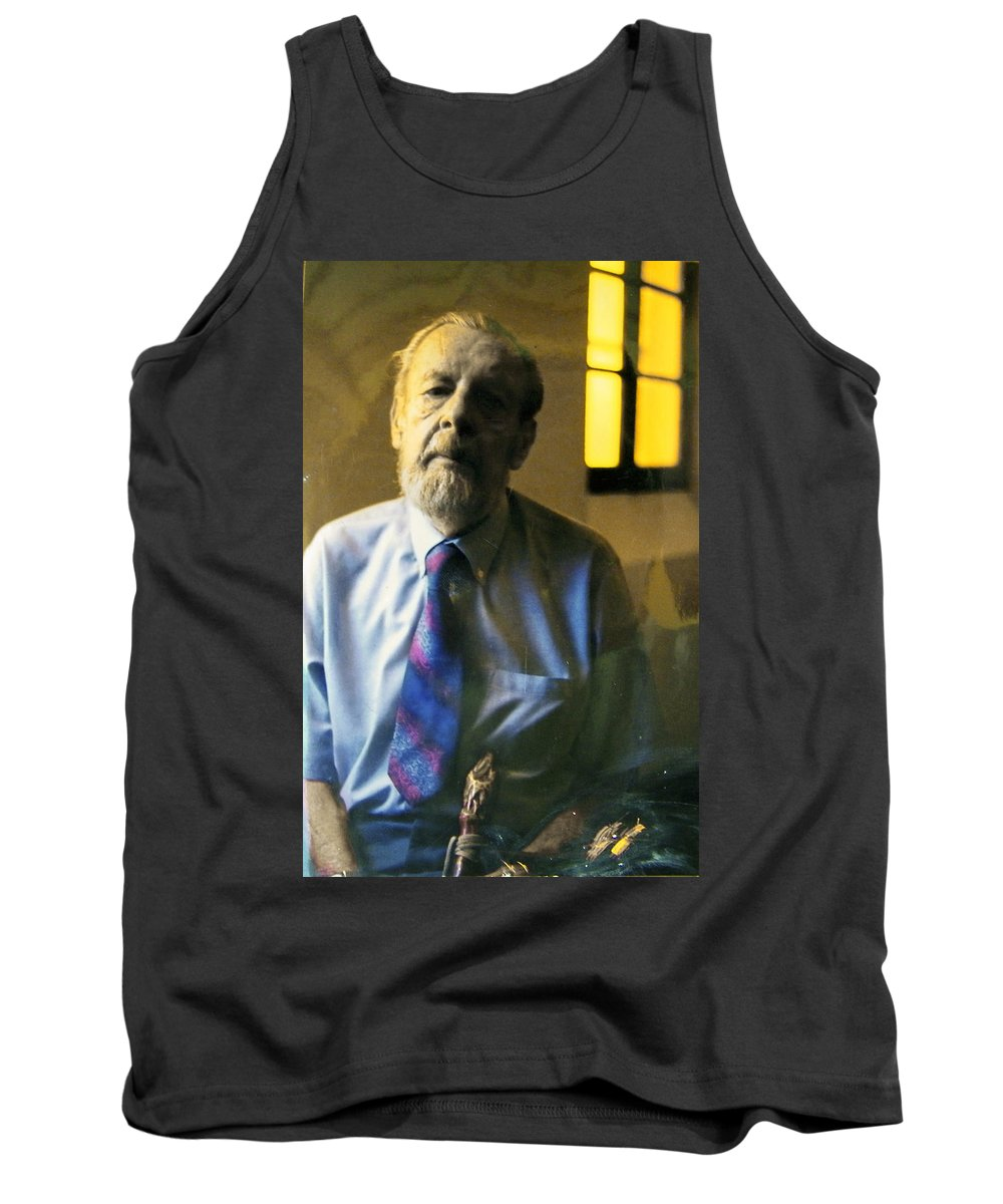 Portrait Tank Top featuring the photograph My Beautiful Friend by Lenore Senior