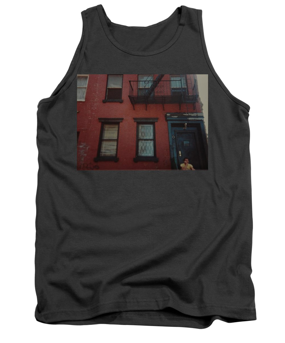 Lower East Side Tank Top featuring the photograph My Pops First Home In The United States by Rob Hans