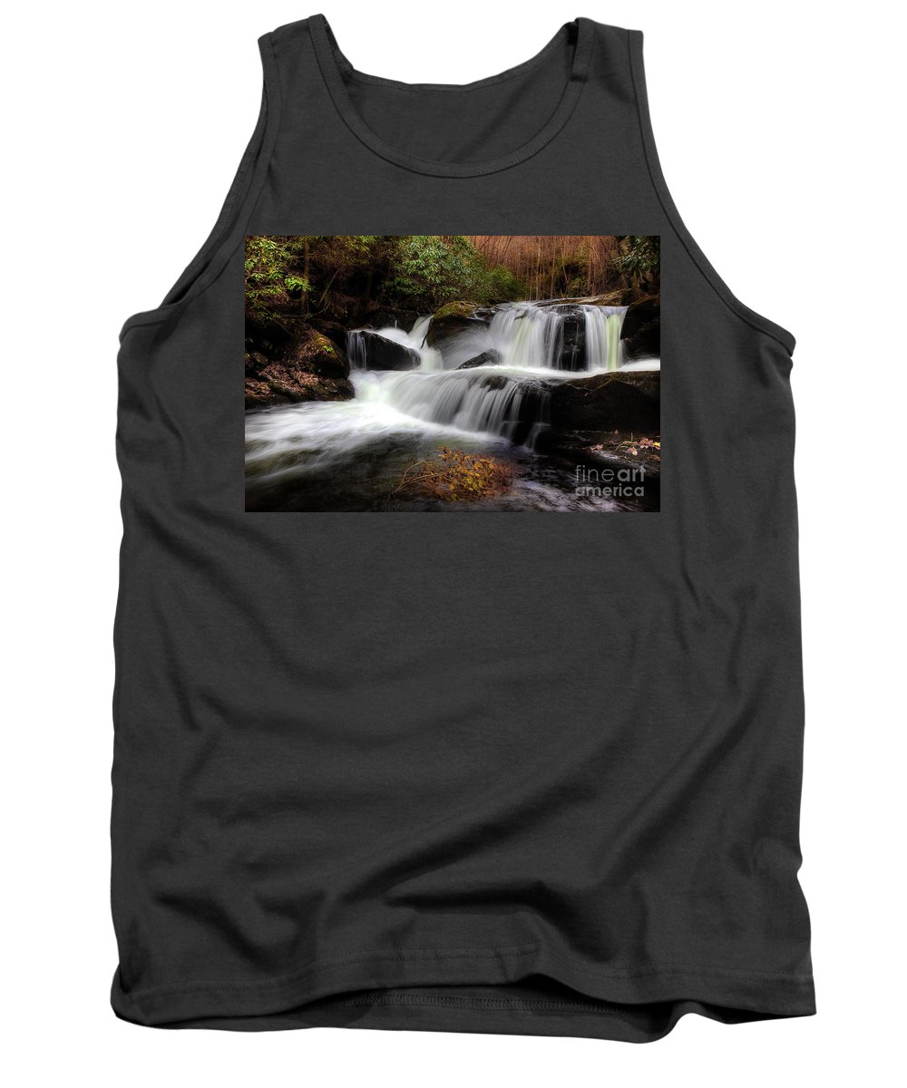 Stream Tank Top featuring the photograph My Secret Place by Michael Eingle