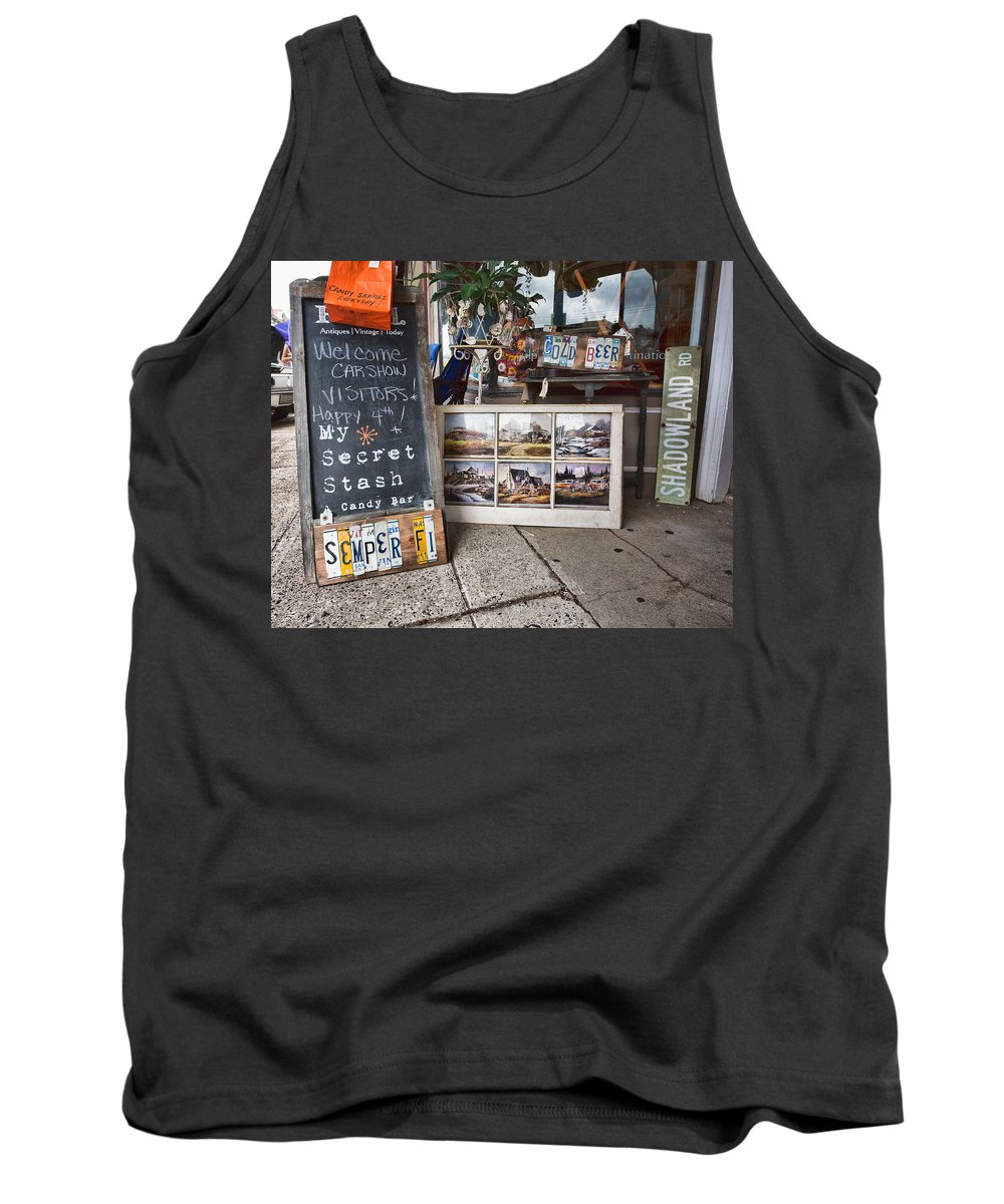 My Secret Stash Tank Top featuring the photograph My Secret Stash by Cindy Archbell