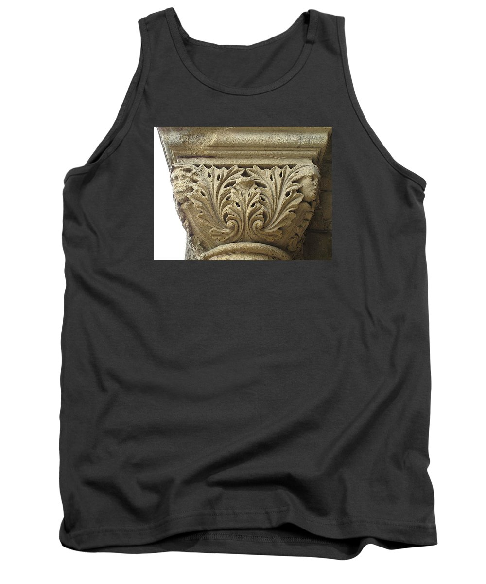 Architecture Tank Top featuring the photograph My Weathered Friend by John King