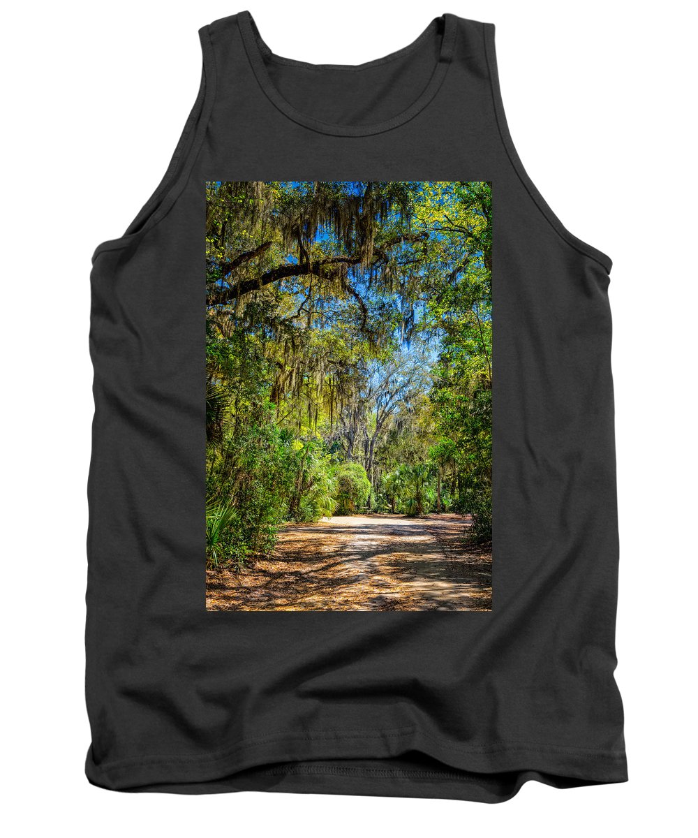Landscape Tank Top featuring the photograph Nature Drive by John M Bailey