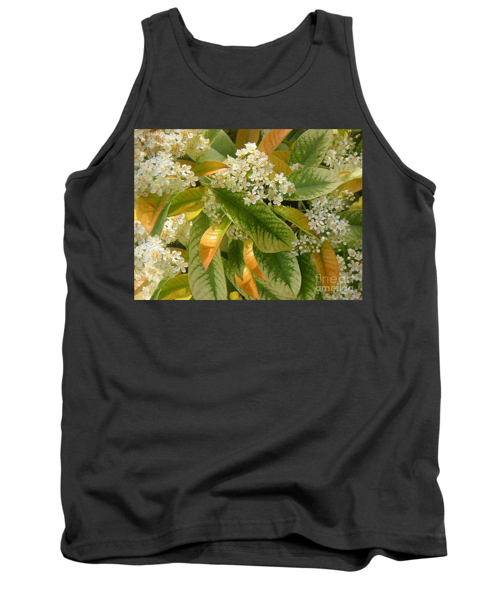 Nature Tank Top featuring the photograph Nature In The Wild - A Summer's Day by Lucyna A M Green