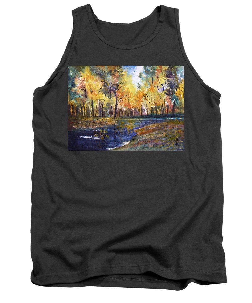 Ryan Radke Tank Top featuring the painting Nature's Glory by Ryan Radke