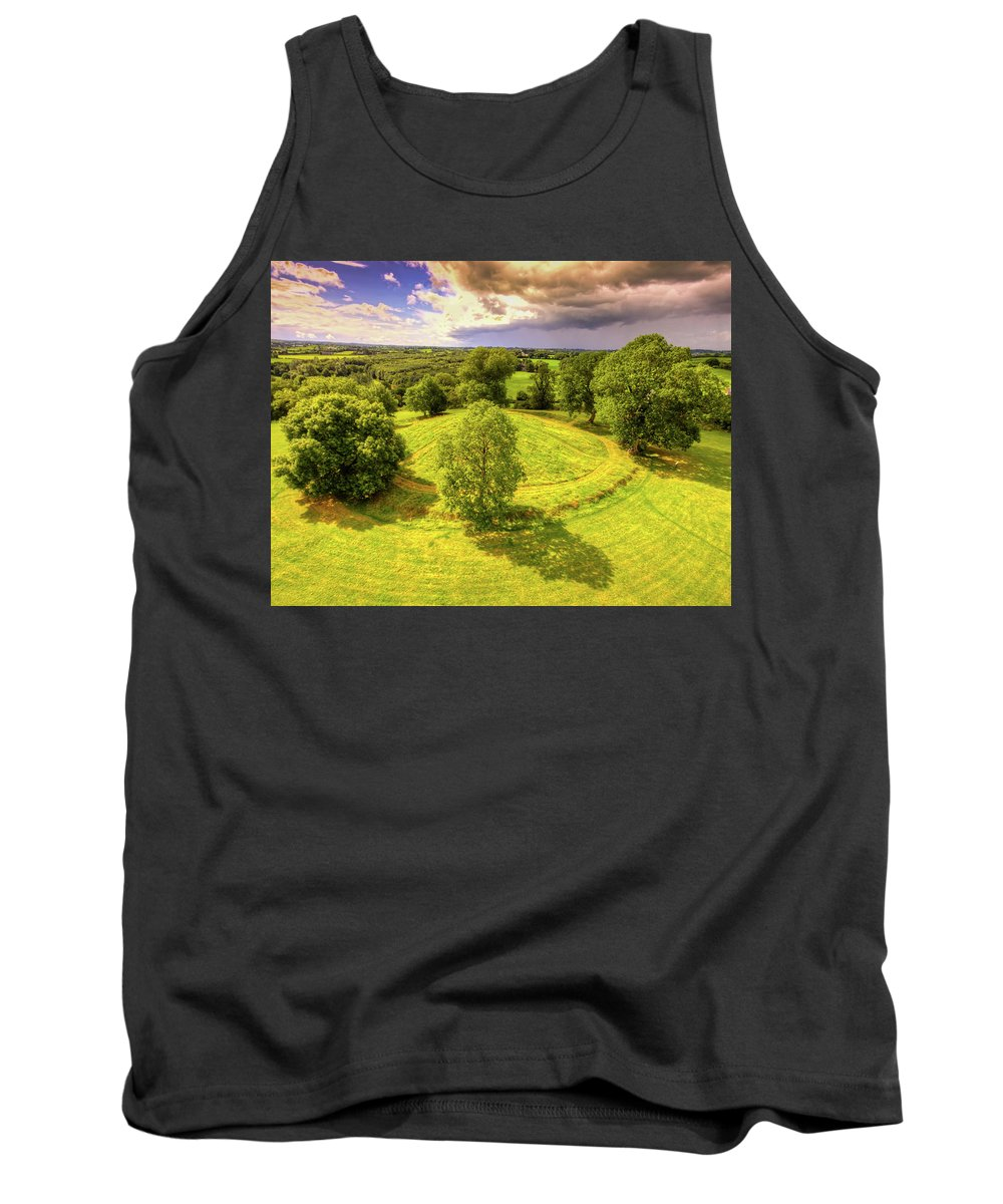 Navan Fort Tank Top featuring the photograph Navan Fort by Kim Shatwell-Irishphotographer
