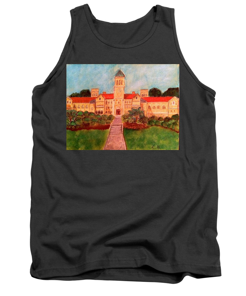 Photo Stream Tank Top featuring the painting Nbhs by Kimberly Balentine