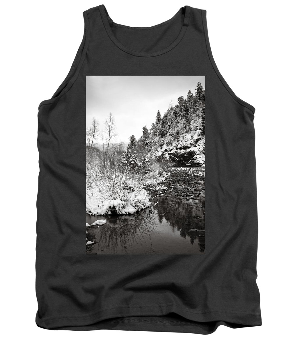 Winter Tank Top featuring the photograph Near Telluride Colorado by Marilyn Hunt