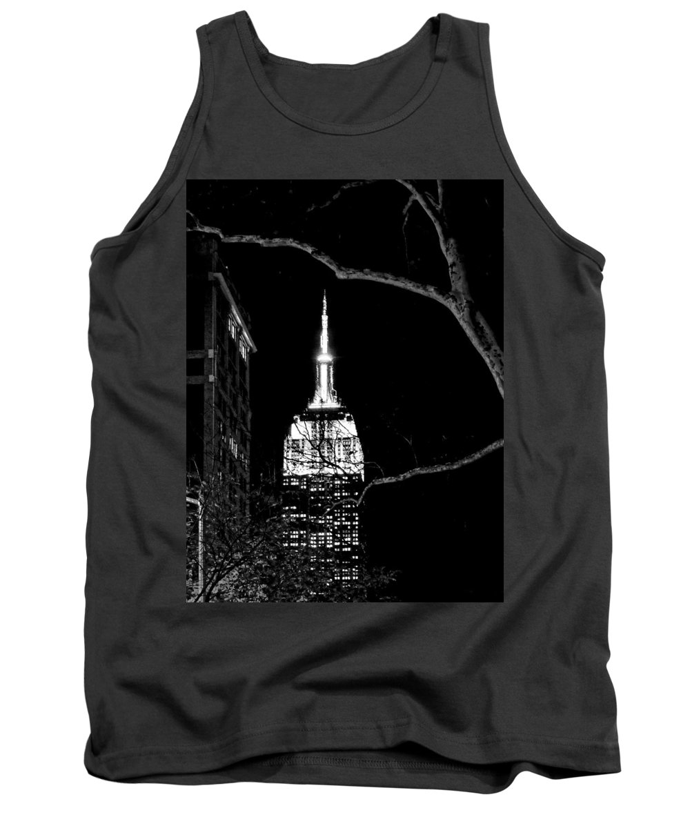 Nyc Tank Top featuring the photograph New York City Skyline No. 7 by Cheryl Kurman