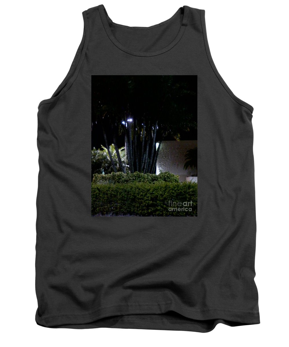Tank Top featuring the painting Night Time Psl by Dutch MARCHING