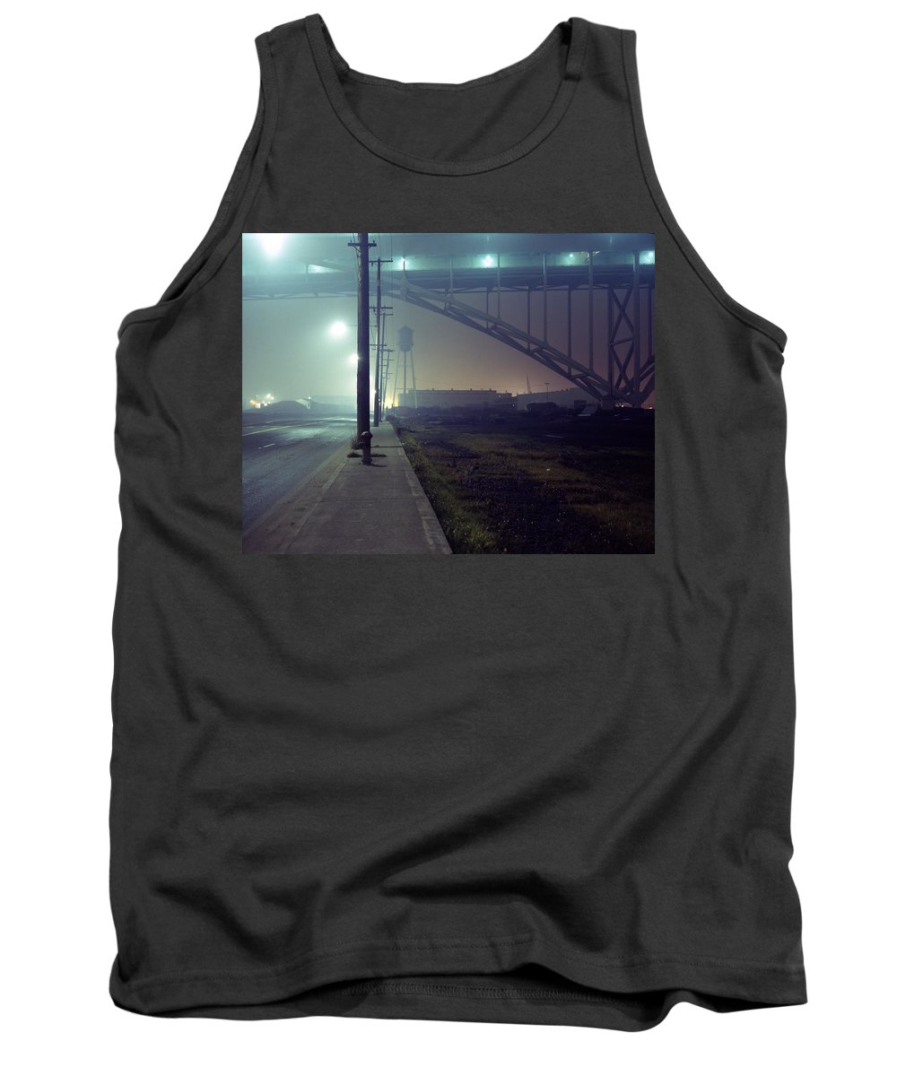 Night Photo Tank Top featuring the photograph Nightscape 2 by Lee Santa