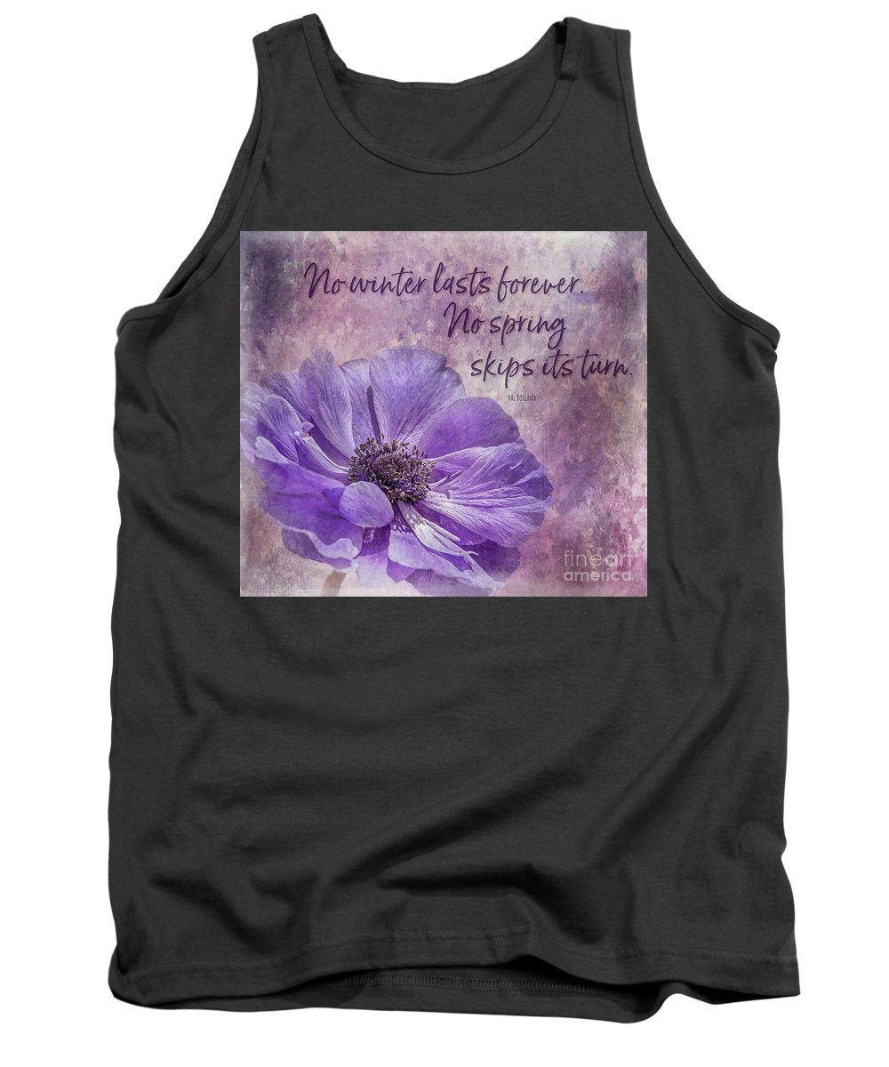 Tl Wilson Photography Tank Top featuring the photograph No Winter Lasts Forever by Teresa Wilson