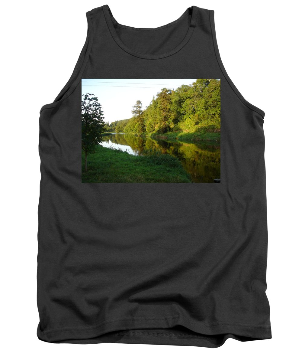 Nore Tank Top featuring the photograph Nore Reflections I by Kelly Mezzapelle