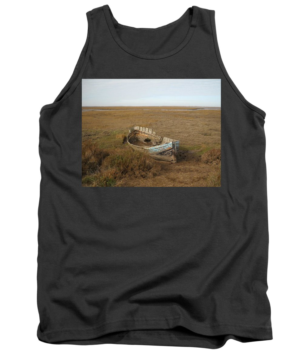United Kingdom Tank Top featuring the photograph Norfolk Coast by Julia Raddatz