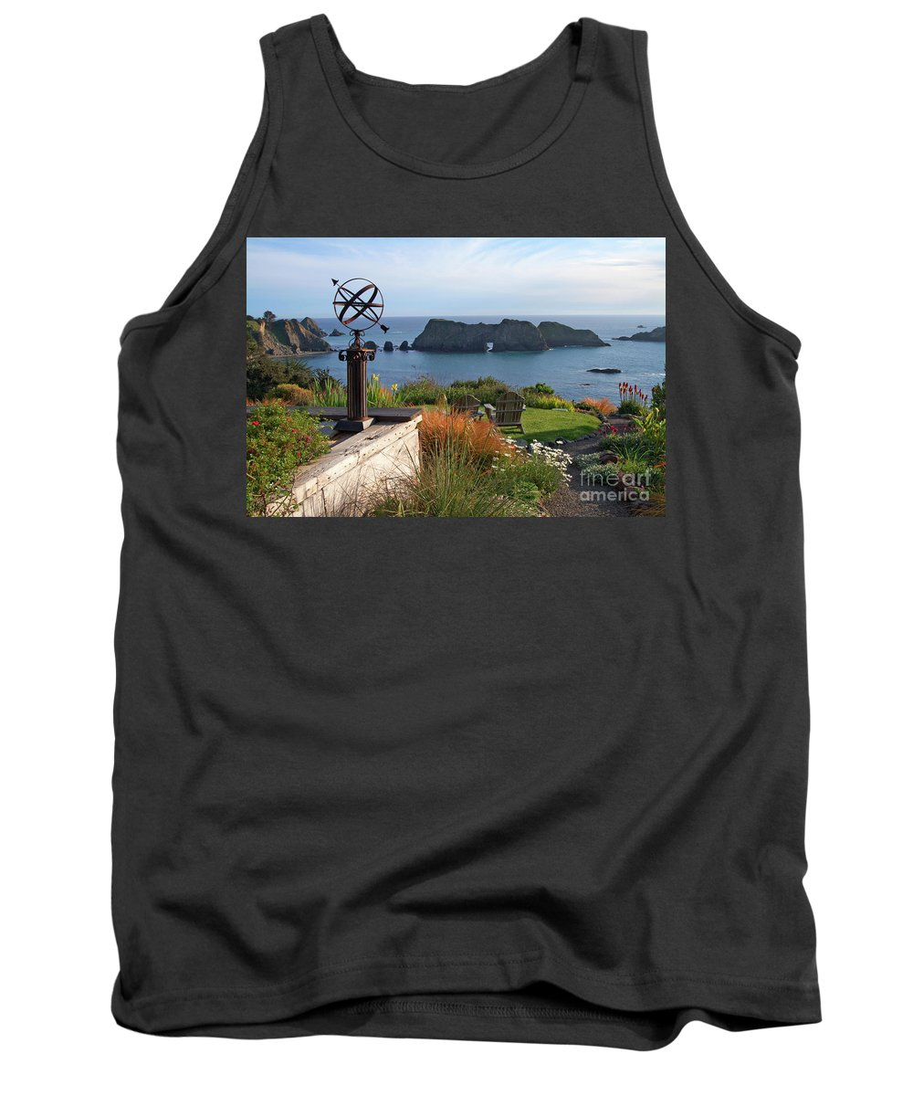 Mendocino Tank Top featuring the photograph Northern California Coast View by Charlene Mitchell