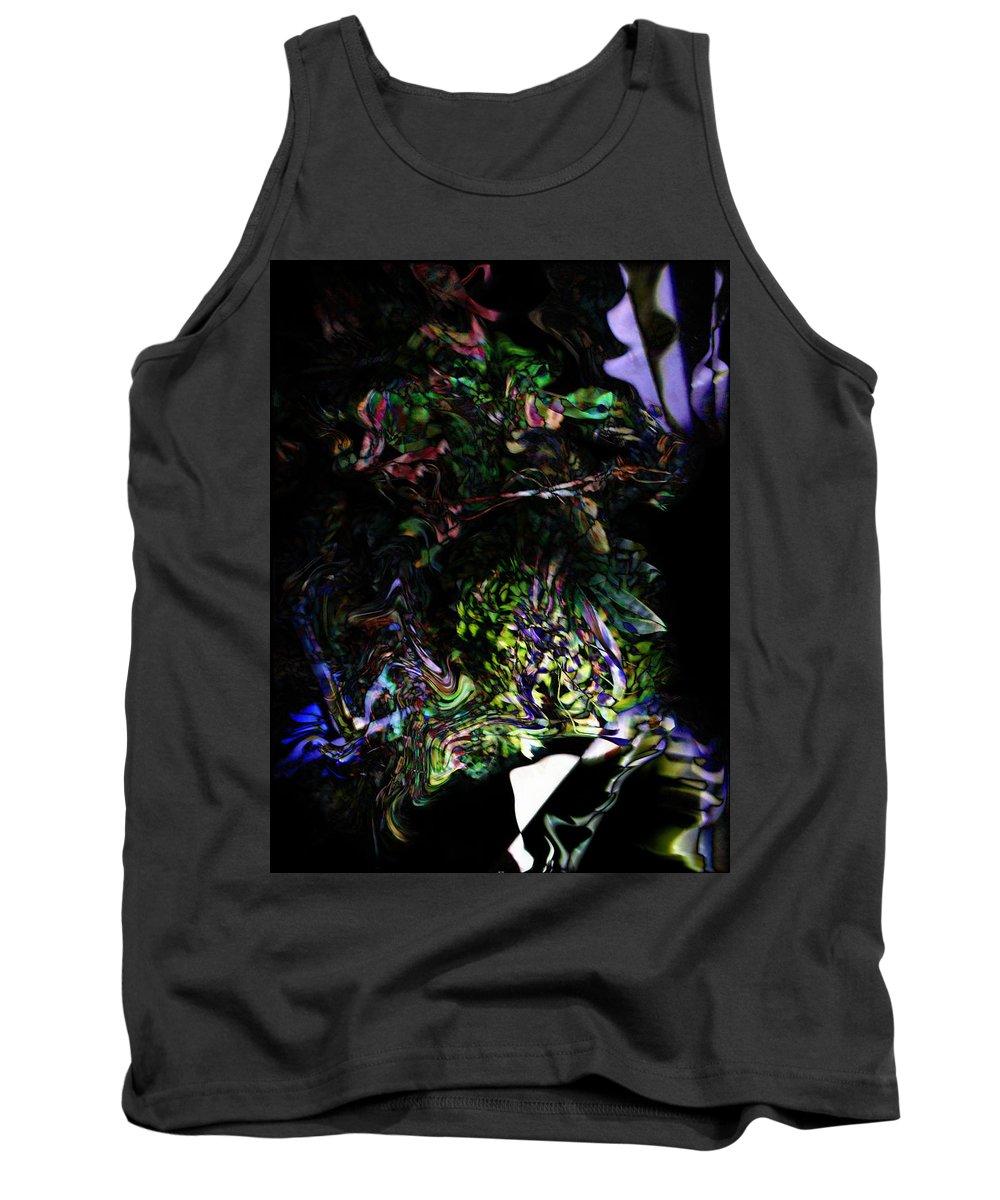 Deep Tank Top featuring the digital art Oa-5133 by Standa1one