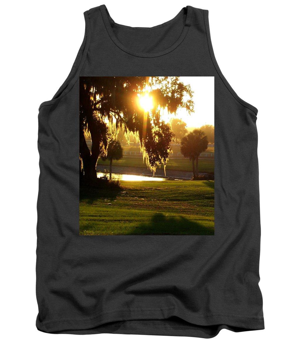 Sunset Tank Top featuring the photograph Ocala Sunset by Kristen Wesch