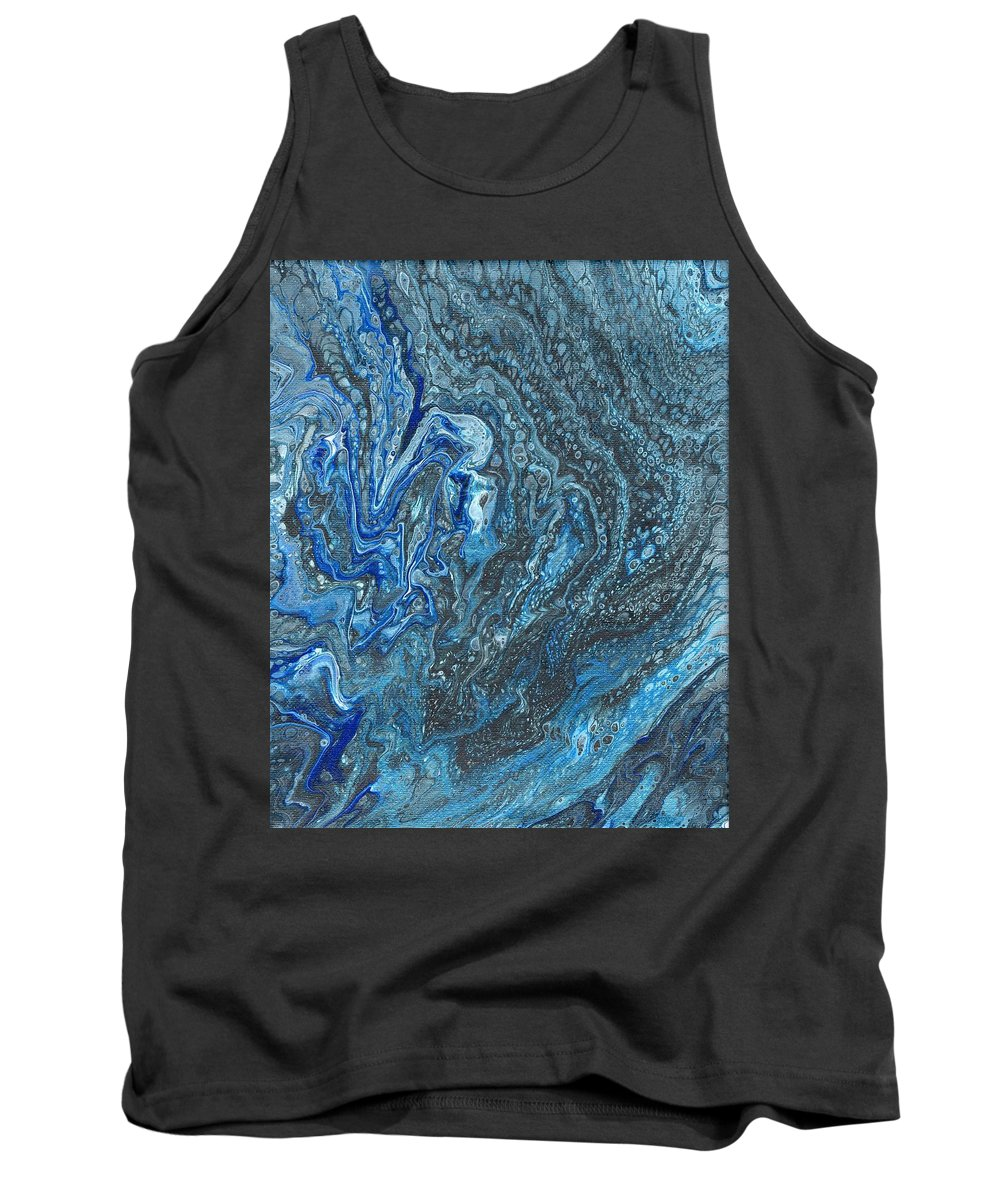 Tank Top featuring the painting Ocean Blue 2 by Daniel Taylor