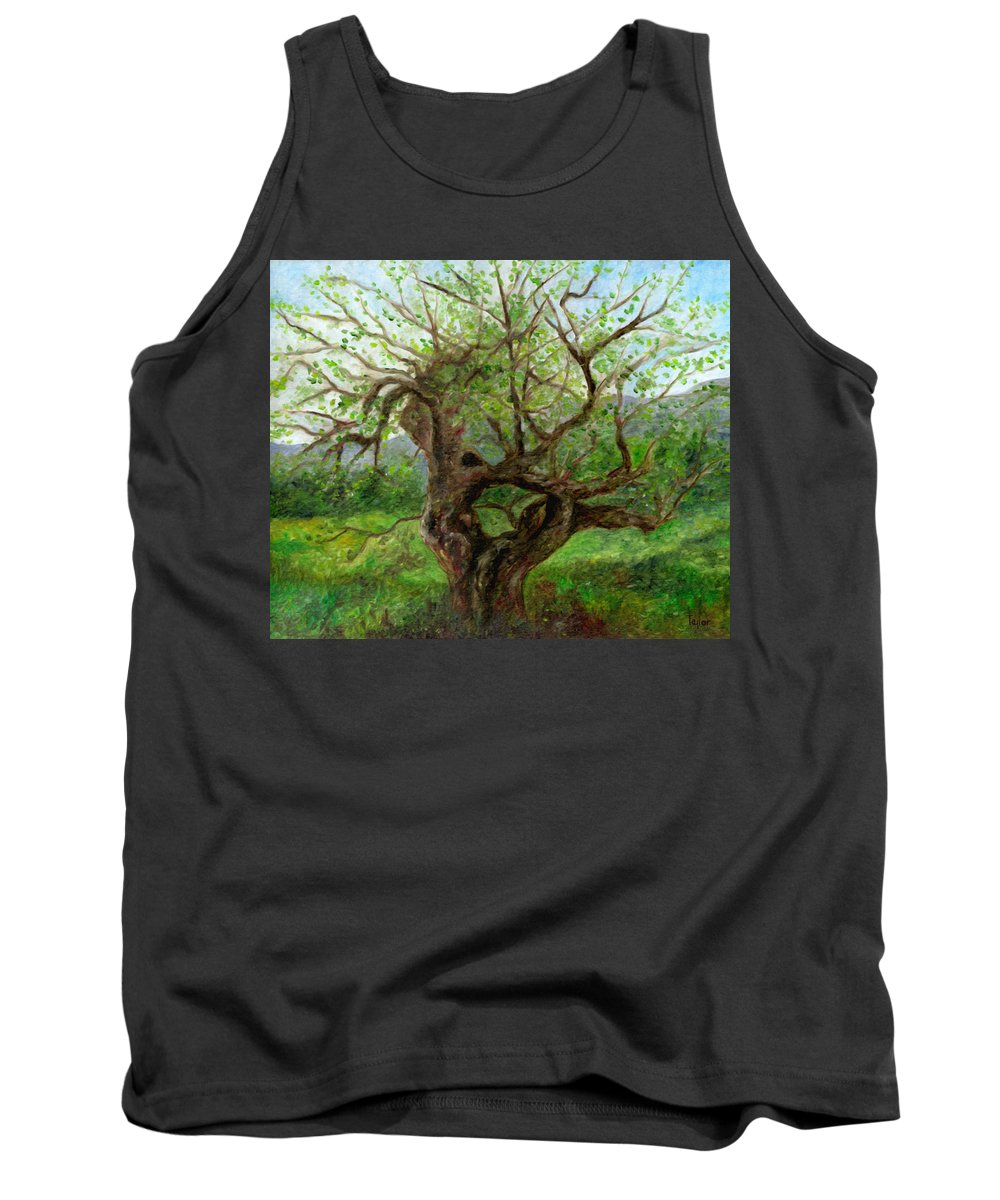 Apple Tree Tank Top featuring the painting Old Apple Tree by FT McKinstry