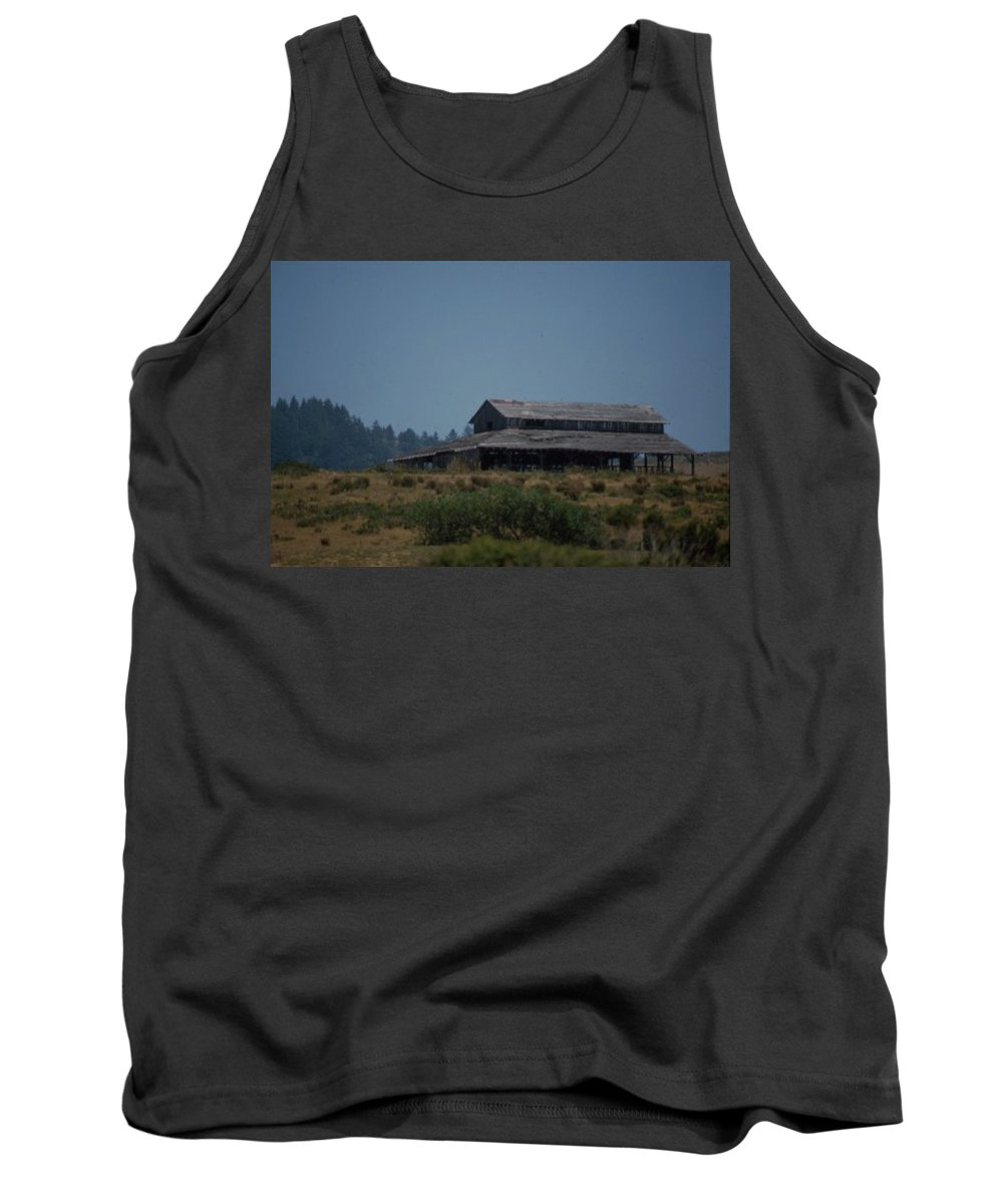 Barn Tank Top featuring the photograph Old Barn by Forrest Prater
