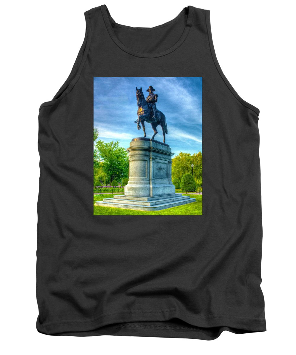 Boston Tank Top featuring the photograph Old George 6355 by Jeff Stallard