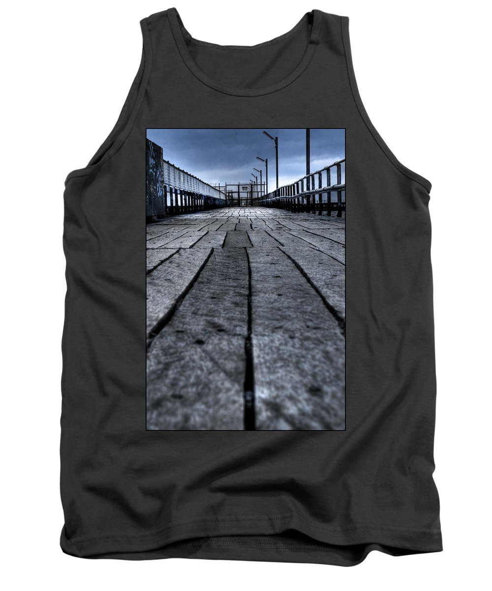 Jetty Tank Top featuring the photograph Old Jetty 2 by Kelly Jade King