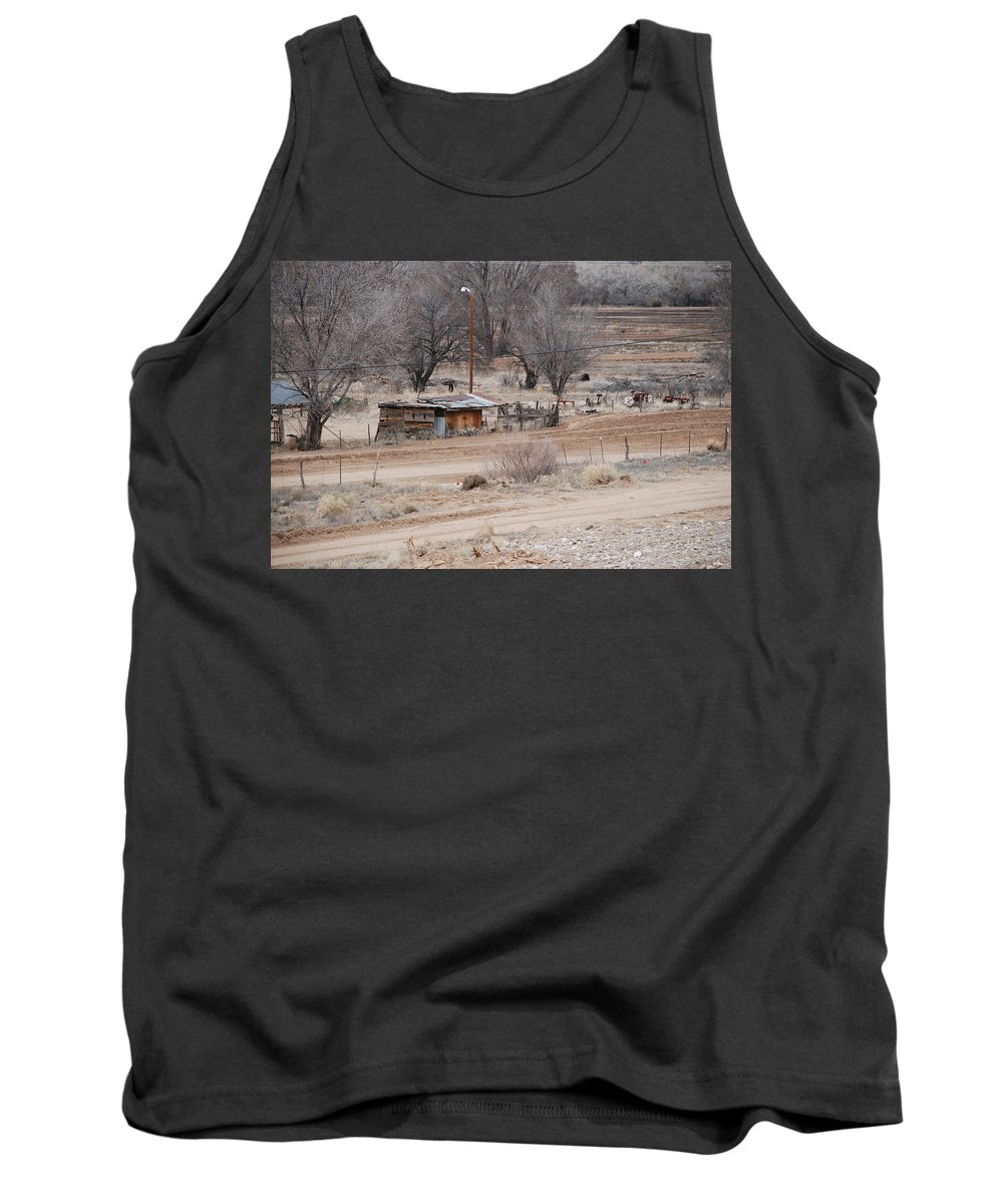 House Tank Top featuring the photograph Old Ranch House by Rob Hans