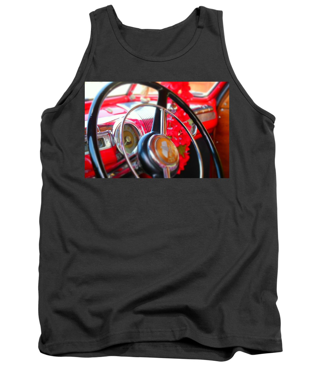 Tank Top featuring the photograph Old Red by Heath Bollock