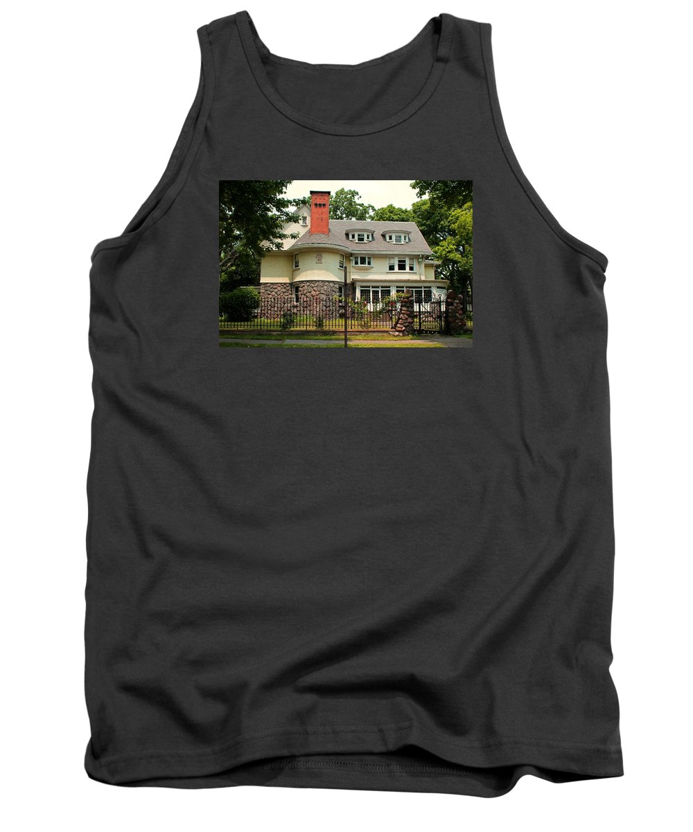 Old West End Tank Top featuring the photograph Old West End White 5 by Michiale Schneider
