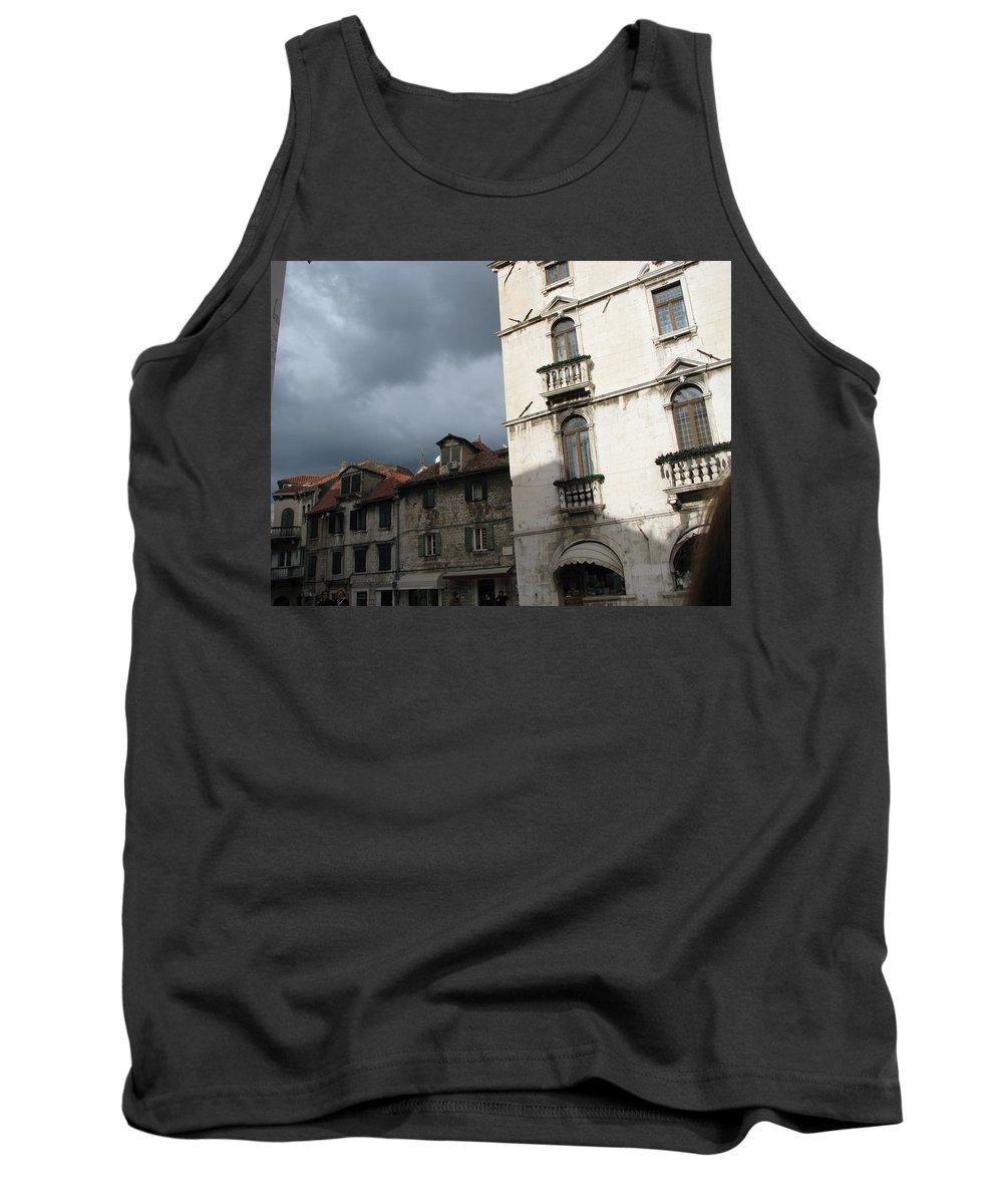Croatia Tank Top featuring the photograph Ominous Sky In Croatia by Diane Berard