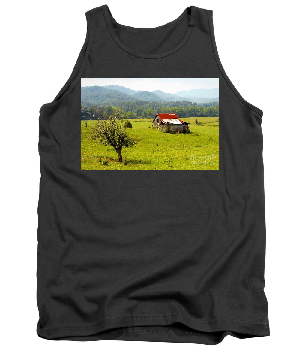 Farm Tank Top featuring the photograph Once Upon A Time by David Lee Thompson