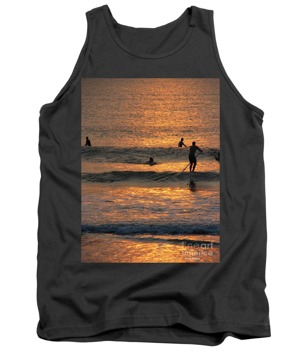 Art For The Wall...patzer Photography Tank Top featuring the photograph One With Nature by Greg Patzer