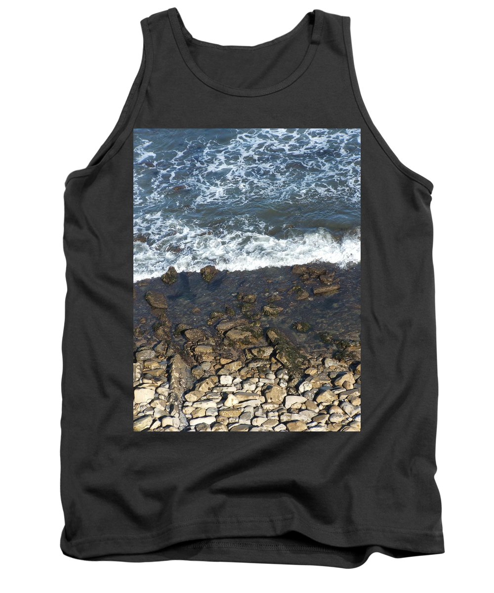 Ocean Tank Top featuring the photograph Opponents by Shari Chavira
