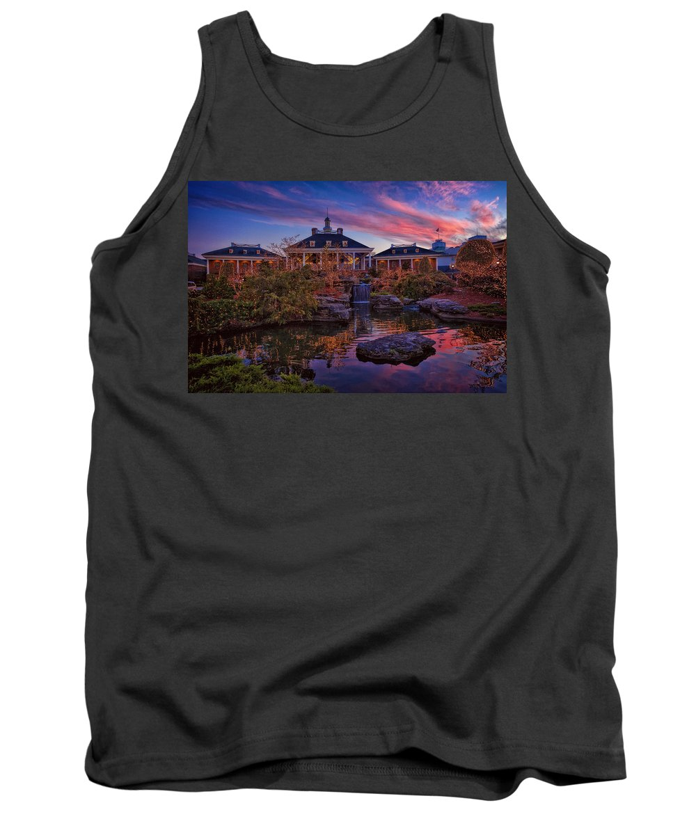 Gaylord Tank Top featuring the photograph Opryland Hotel by Diana Powell