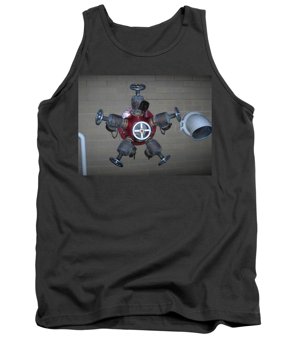 Photograph Tank Top featuring the photograph Original Male Pipe by Thomas Valentine