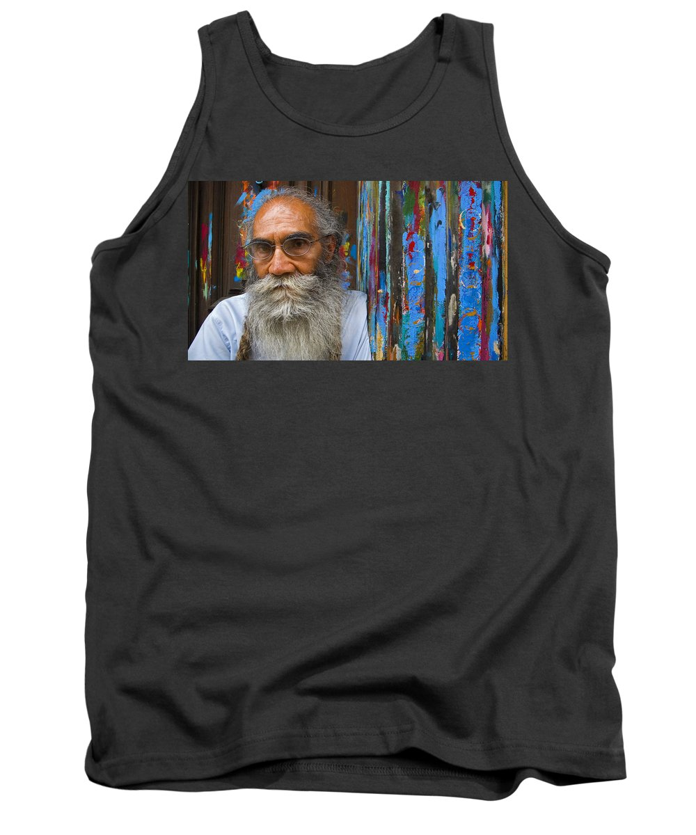 Architecture Tank Top featuring the photograph Orizaba Painter by Skip Hunt