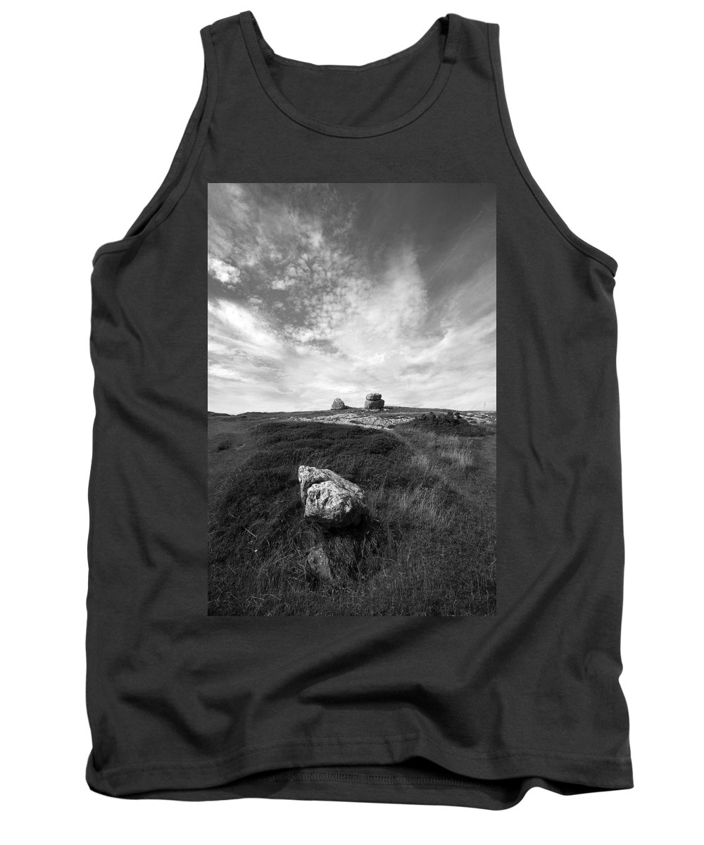 Great Orme Tank Top featuring the photograph Orme Rocks by Bob Kemp