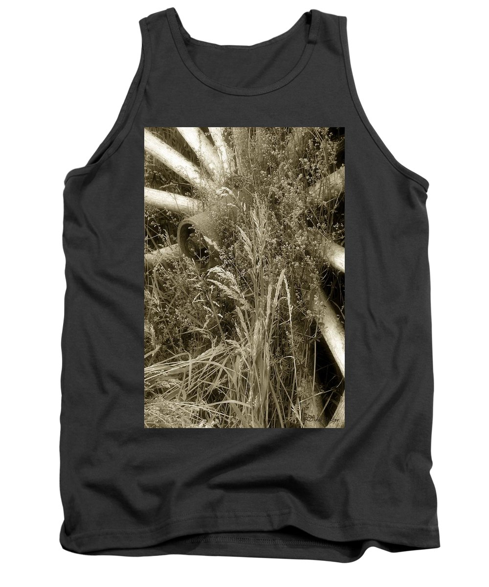 Abandoned Tank Top featuring the photograph Ornament For A Wild Garden by RC DeWinter